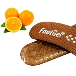 Plantillas FootGel de gel con esencia naranja - Querol online