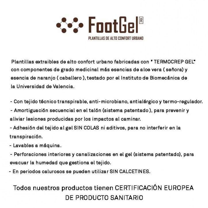 complements FootGel plantillas amb essència aloe vera - Querol online