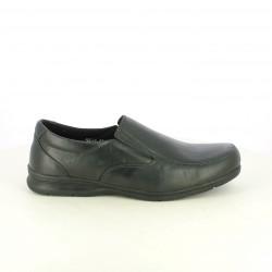 zapatos vestir VICMART negros sin cordones - Querol online