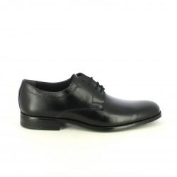 zapatos vestir BAERCHI clásicos bluchers de piel negros - Querol online