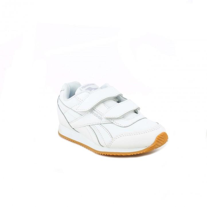 zapatillas deporte REEBOK blancas de piel - Querol online