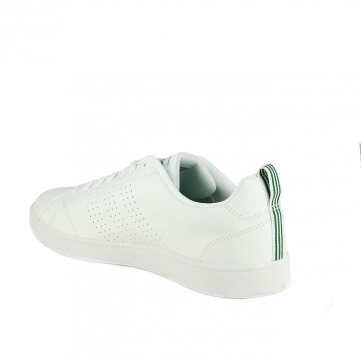 zapatillas deportivas ADIDAS advantage blancas - Querol online