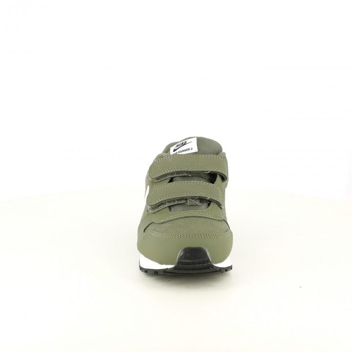 zapatillas deporte NIKE verde caqui - Querol online
