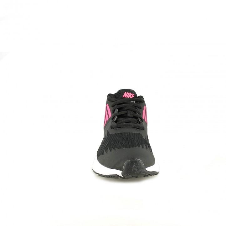 zapatillas deporte NIKE star runner negras y rosas - Querol online