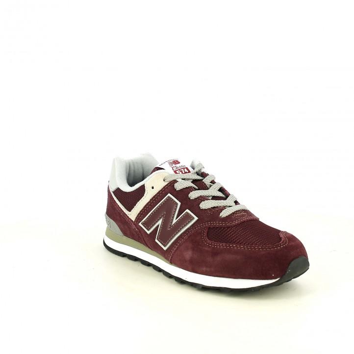 zapatillas deportivas NEW BALANCE 574 burdeos - Querol online