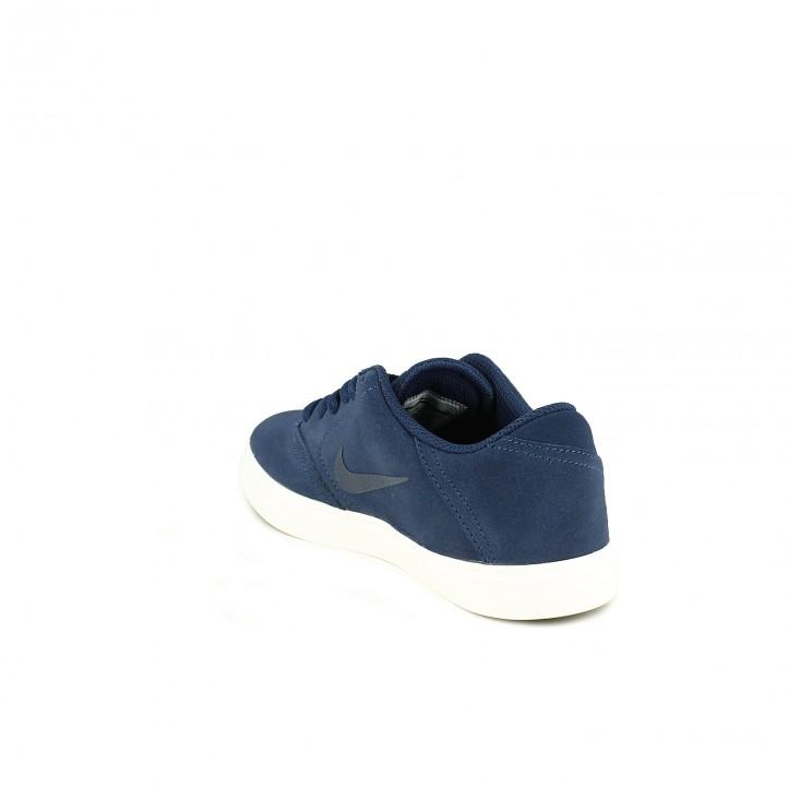 zapatillas deporte NIKE sb azules de piel - Querol online