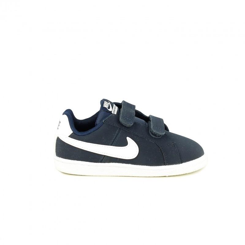 2ca4edbbb5b ... zapatillas deporte NIKE court royale azul marino y blancas - Querol  online ...