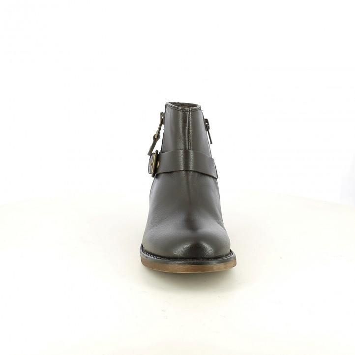 botines XTI marrones oscuros - Querol online