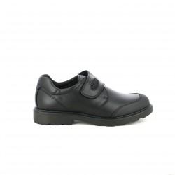 zapatos PABLOSKY negros de piel con puntera reforzada - Querol online