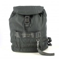 complementos SixtySeven 67 mochila negra con hebilla - Querol online