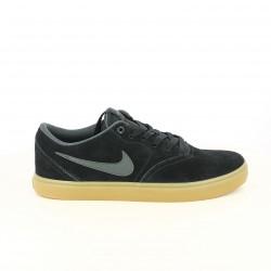zapatillas deportivas NIKE sb check solar negras - Querol online