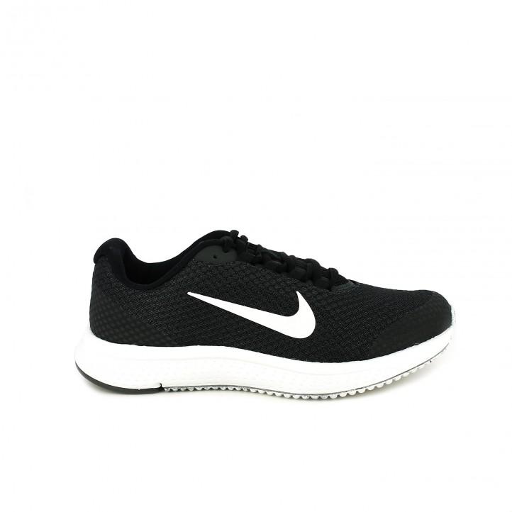 6bc9ff486a181 zapatillas deportivas NIKE runallday negras - Querol online ...