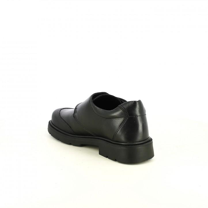 sabates QUETS! negres de pell amb veta - Querol online