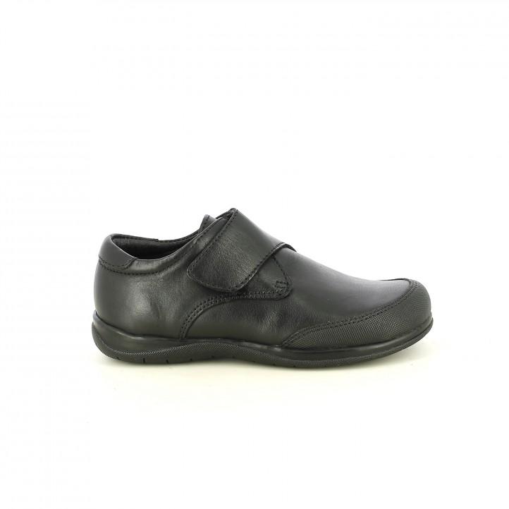 sabates QUETS! negres de pell sport - Querol online
