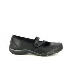 sabates planes SKECHERS negres amb memory foam - Querol online