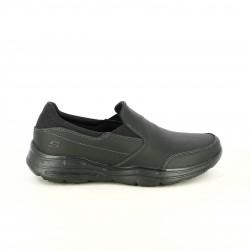 sabates sport SKECHERS mocassins negres amb memory foam - Querol online