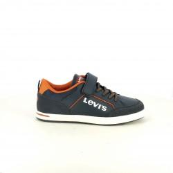 zapatos LEVIS azules y naranjas - Querol online