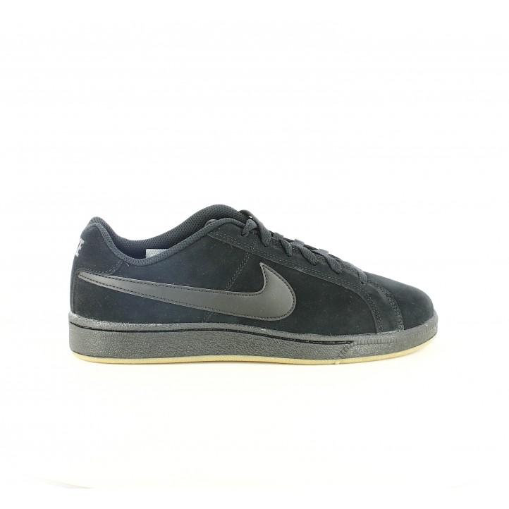 127e6821569 zapatillas deportivas NIKE court royale suede negras - Querol online ...
