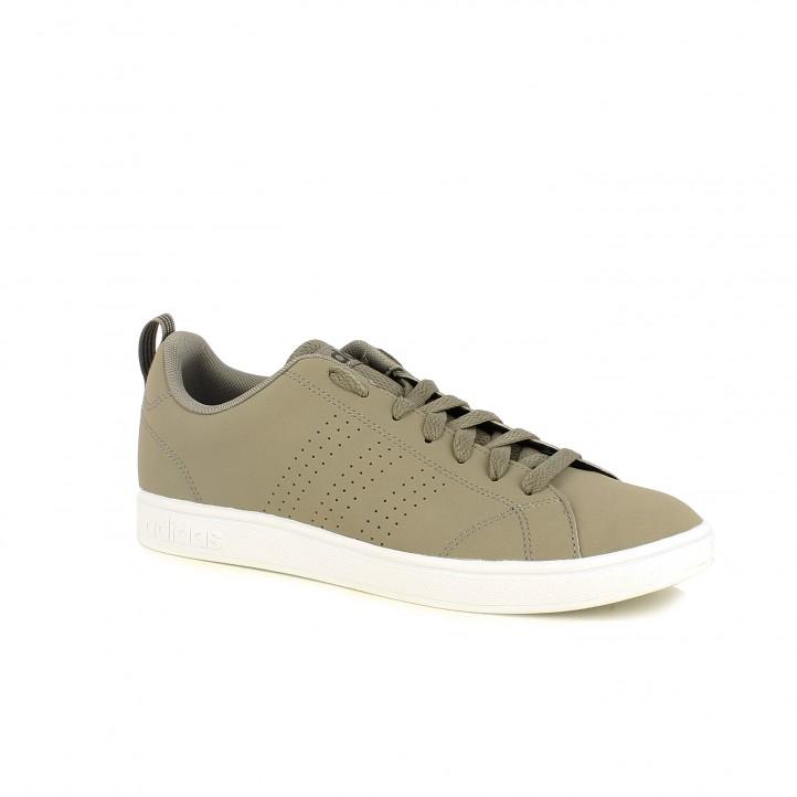 zapatillas deportivas ADIDAS advanatge marrones - Querol online