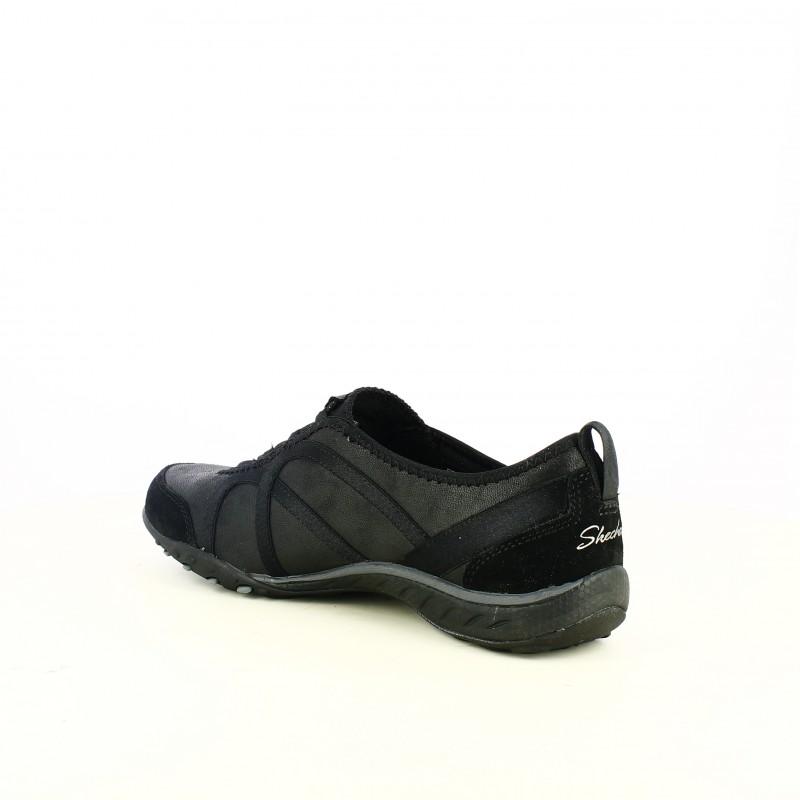 Negras Memory Sin Cordones Y Skechers Foam Con Deportivas Zapatillas 5n4qRaUR