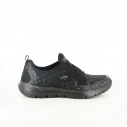 zapatillas deportivas SKECHERS negras air-cooled con memory foam - Querol online