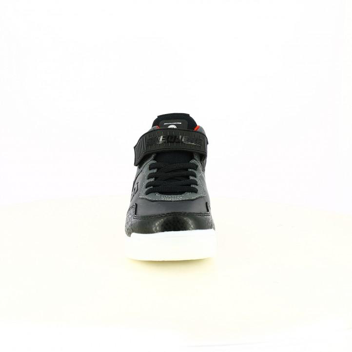 zapatillas deporte SKECHERS botas negras con luces led - Querol online