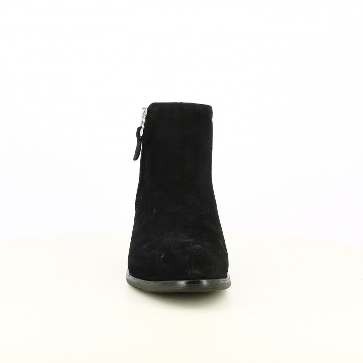 botines tacón REDLOVE negros de piel - Querol online