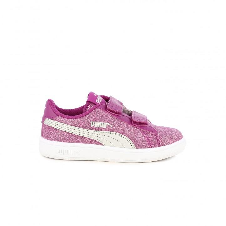 980dda37411 zapatillas deporte PUMA con purpurina - Querol online ...