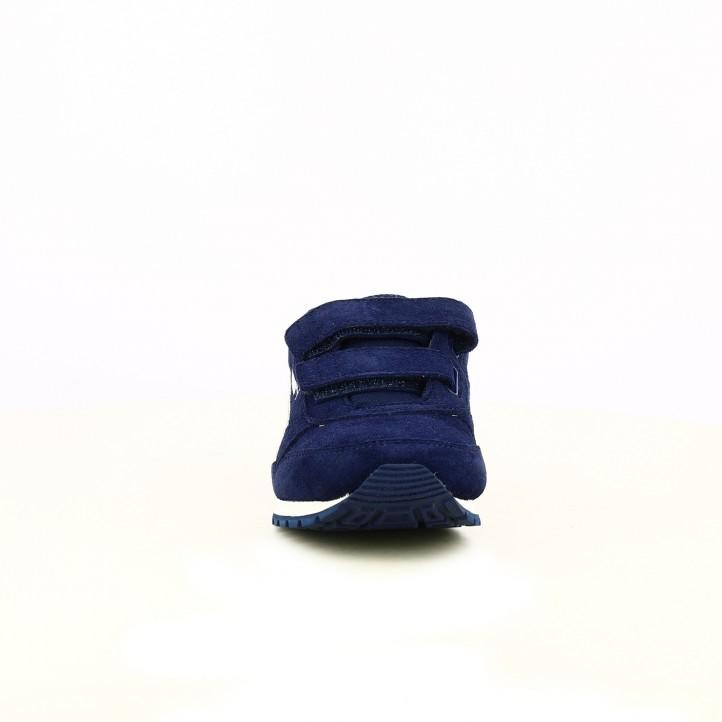 zapatillas deporte PUMA azul marino de piel - Querol online