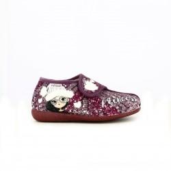 zapatillas casa VUL·LADI lilas cerradas princess - Querol online
