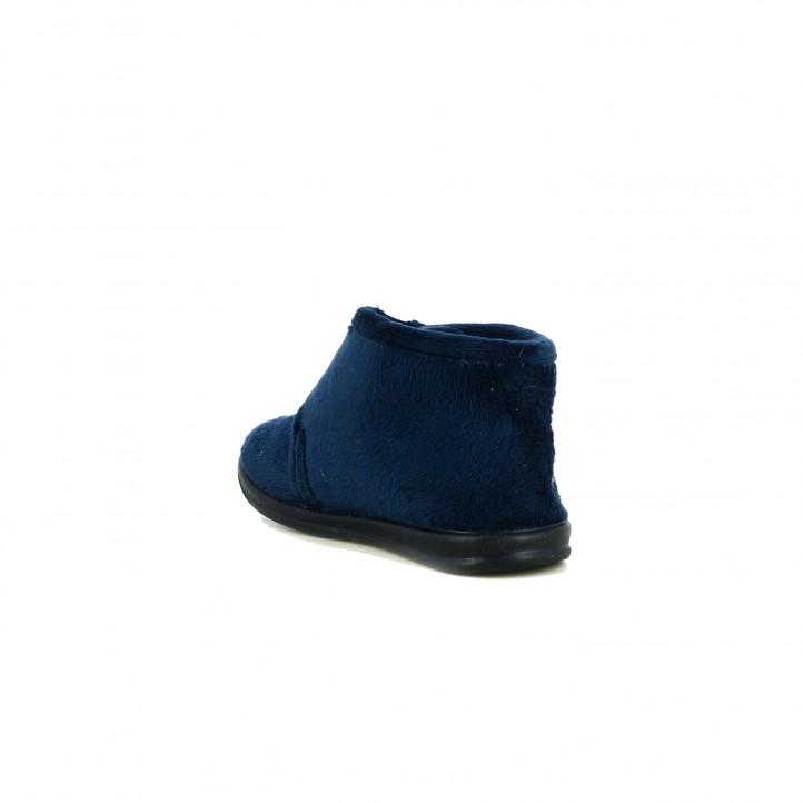 zapatillas casa VUL·LADI cerradas azules futbol - Querol online