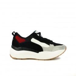 zapatillas deportivas SixtySeven 67 negras, azules, rojas y blancas - Querol online
