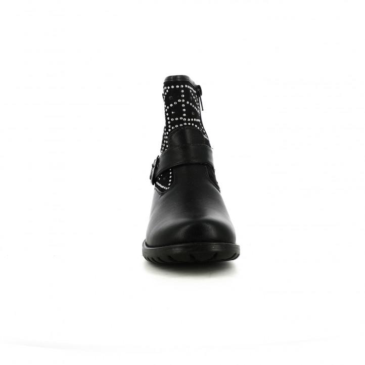 botins ASSO negres amb tatxes i sivelles - Querol online