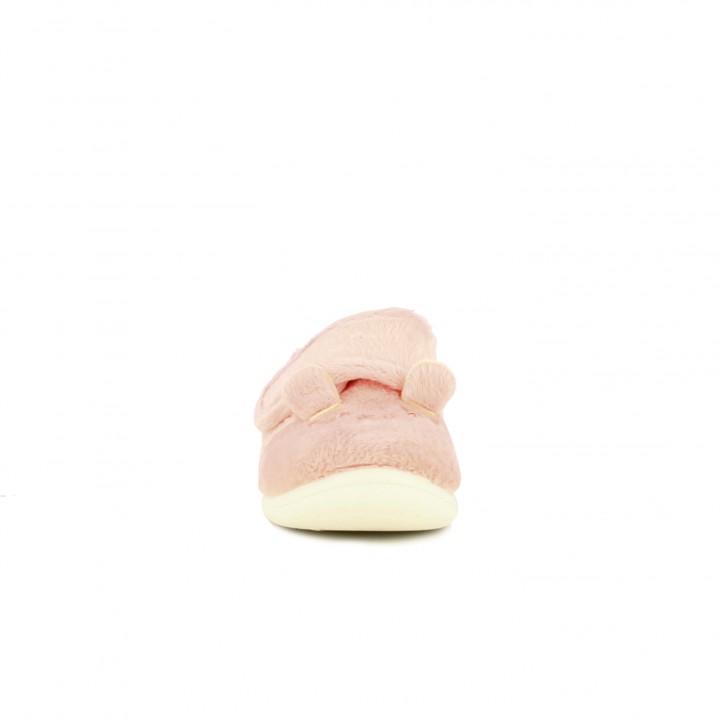 zapatillas casa GIOSEPPO ositos rosas - Querol online