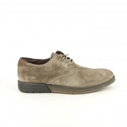 sabates sport CETTI marrons de pell amb cordons elàstics - Querol online