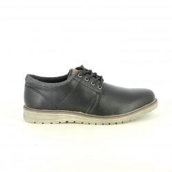 sabates sport XTI bluchers negres sintètics - Querol online