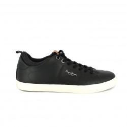 sabates sport PEPE JEANS negres amb folre - Querol online