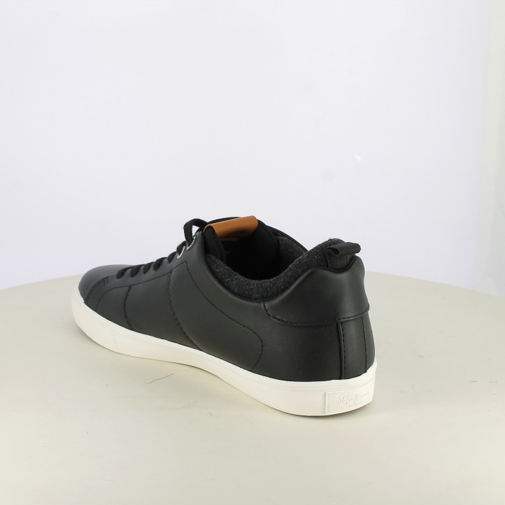 zapatos sport PEPE JEANS negros con forro - Querol online