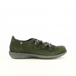 zapatos planos JUNGLA verdes cerrados - Querol online