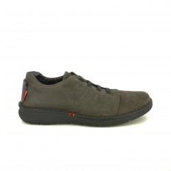 sabates sport ZEN marrons amb cordons elàstics - Querol online
