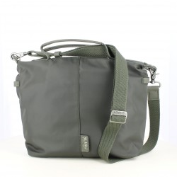 complementos SLANG BARCELONA bolso verde de lona - Querol online