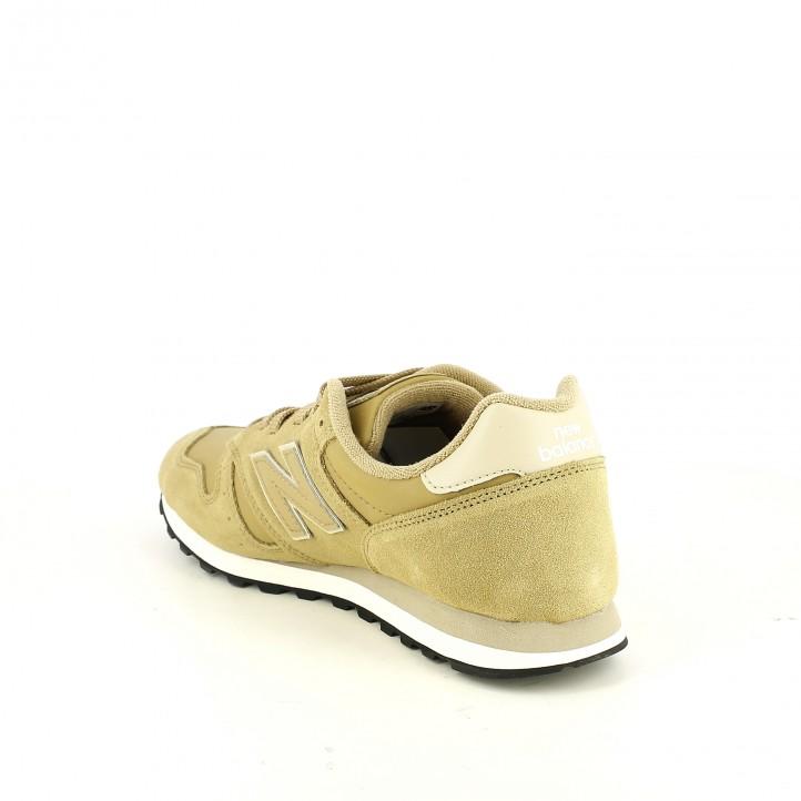 zapatillas deportivas NEW BALANCE 373 marrones de piel - Querol online
