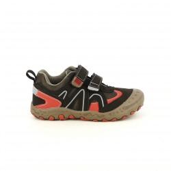 zapatos GIOSEPPO marrones y rojos sport - Querol online