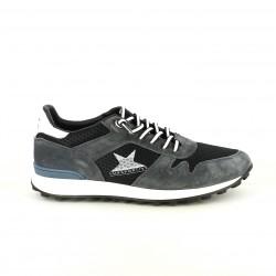 sabates sport CETTI grises i blaves de pell - Querol online