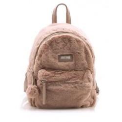 complementos Mustang mochila rosa con pelo - Querol online