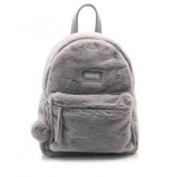 complementos Mustang mochila gris con pelo - Querol online