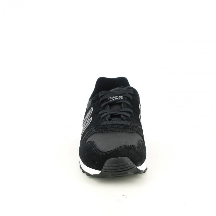 zapatillas deportivas NEW BALANCE 373 negras piel - Querol online