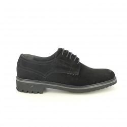 sabates vestir LOBO bluchers negres de serratge - Querol online