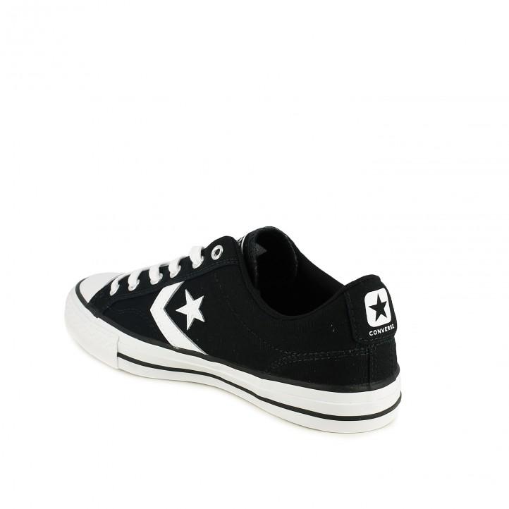 ... zapatillas lona CONVERSE star player negras - Querol online 2cc3045401c