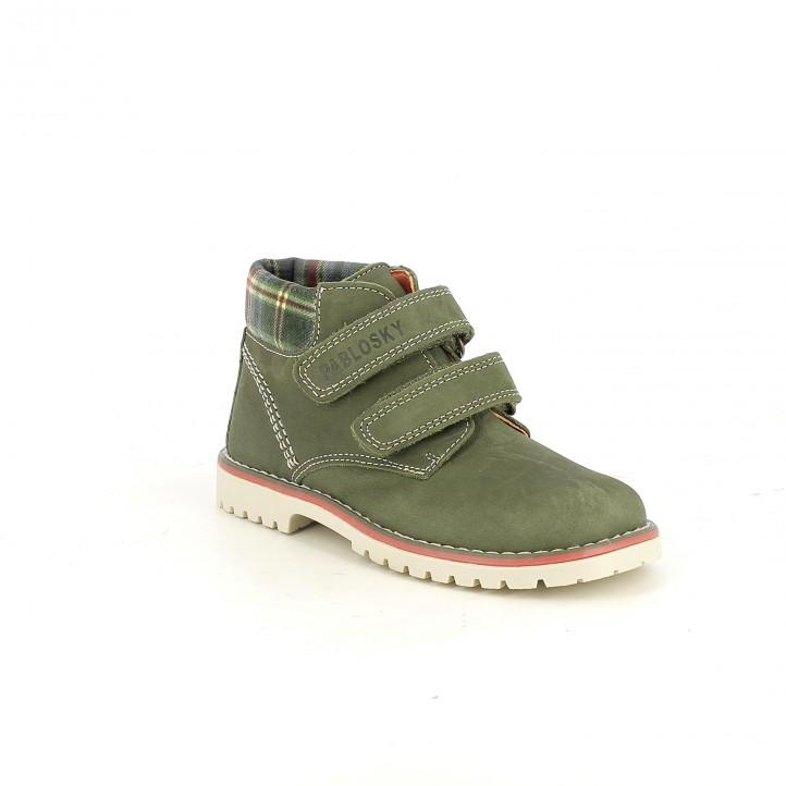 botines PABLOSKY botines verdes de piel - Querol online